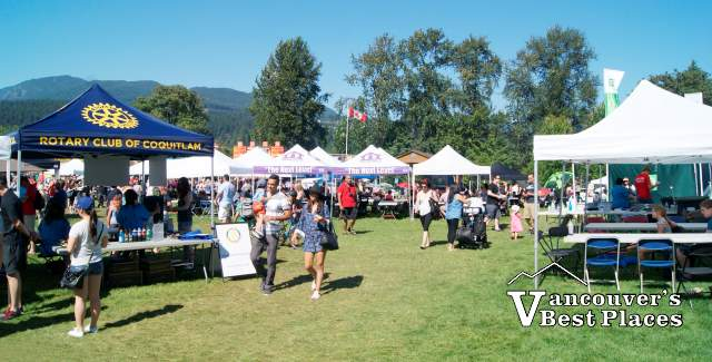 Community Stalls at Port Moody Rotary Ribfest