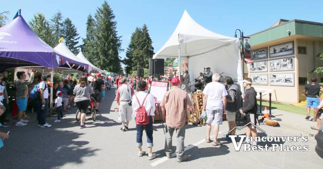 Fort Langley Canada Day Street Party
