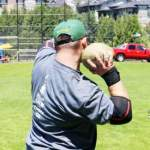 Highland Games Heavy Throwing Event