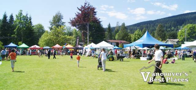 Lynn Valley Day Market Stalls