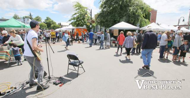 Live Music at Ladner Village Market