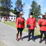RCMP at Fort Langley