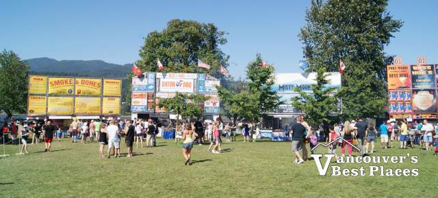 Ribfest at Rocky Point Park