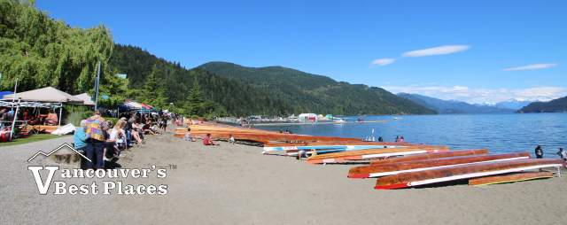 Sasquatch Days at Harrison Lake Beach