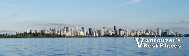 Vancouver Skyline from English Bay