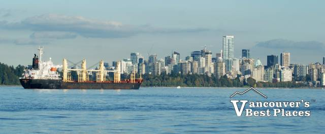 Vancouver from English Bay