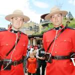 Canada Day Mounties at Whistler Village