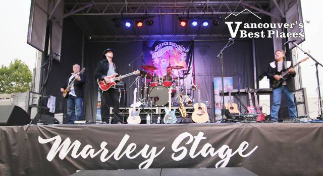 Hotel California on Marley Stage