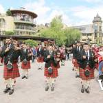 Pipe Band in Whistler Canada Day Parade