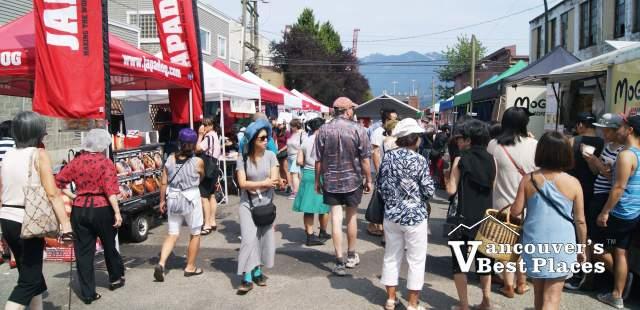 Powell Street Festival Food Vendors