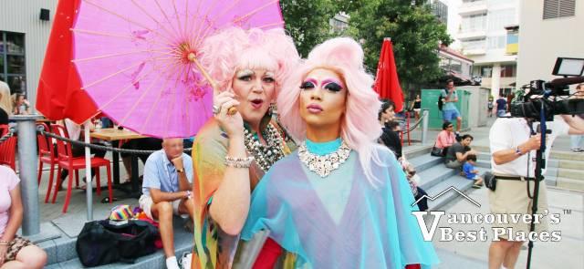 Pride at the Pier Drag Queens