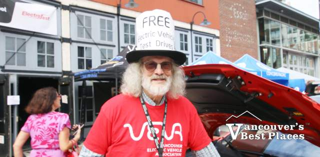 VEVA Volunteer at Electrafest