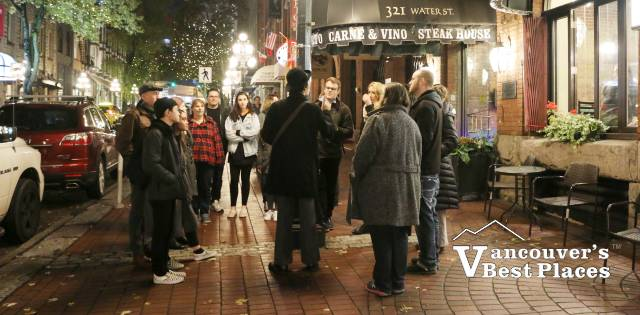 Forbidden Vancouver's Lost Souls of Gastown Walking Tour