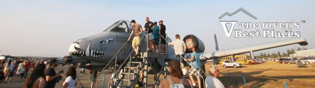 Abbotsford Airshow Static Display