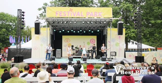 Dr. Strangelove on Festival Park Stage