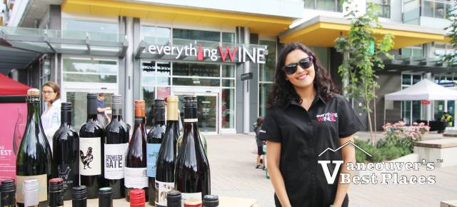Everything Wine at River District Vancouver