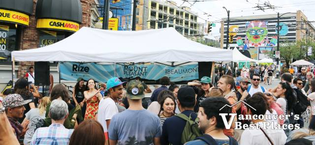 Main Street Crowds at Mural Festival