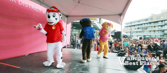 Paw Patrol at Savour Summer Festival