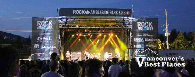 Rock Ambleside Stage at Night