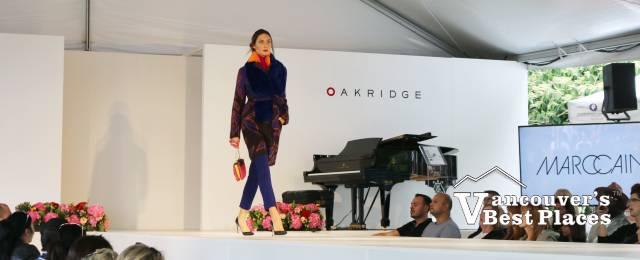 Fashion Show Model and Grand Piano
