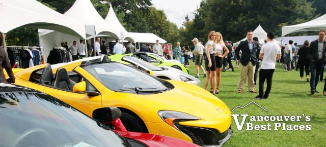 McLaren Sports Cars at VanDusen Gardens