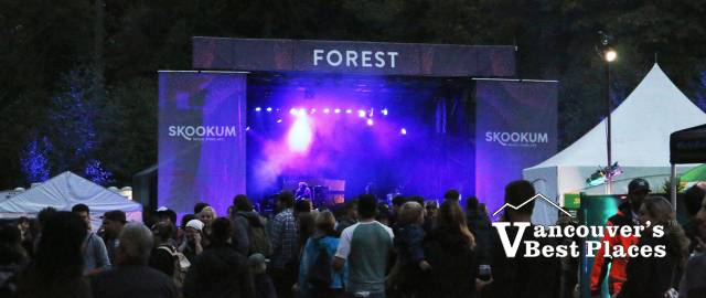 Skookum Festival's Forest Stage