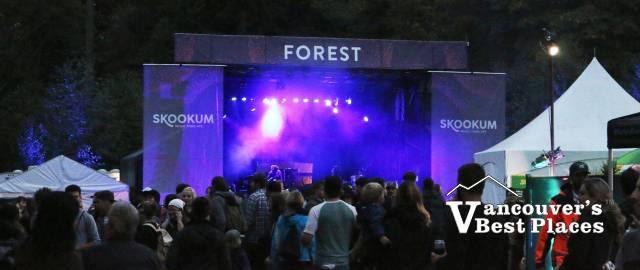 Skookum Festival's Forest Stage