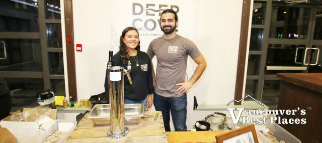 Deep Cove Brewery at Beer Festival