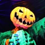Dovercourt Pumpkin Skeleton