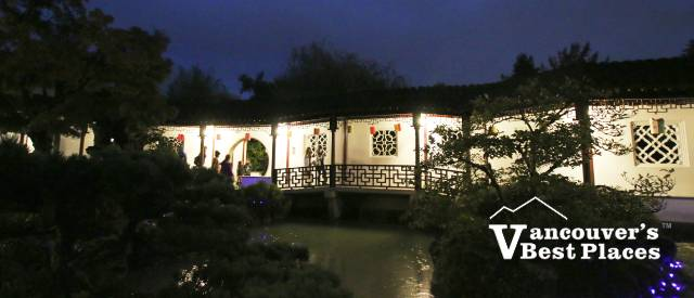 Dr. Sun Yat-Sen Garden at Night