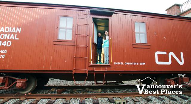 Escape Room Train in Squamish