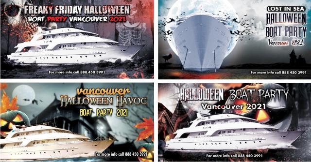 Halloween Boat Parties