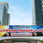 Halloween Expo and Parade Sign