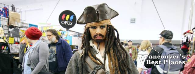 Jack Sparrow at Vancouver Fan Expo