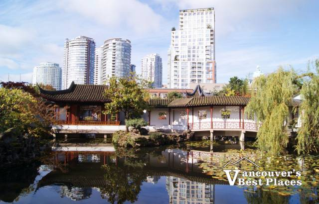 Dr. Sun Yat-Sen Garden from the Park
