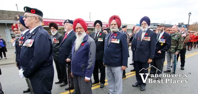 Veterans in Surrey