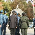 Cadets at West Vancouver's Memorial Arch