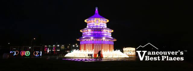 Art of Lights Lantern Festival Temple