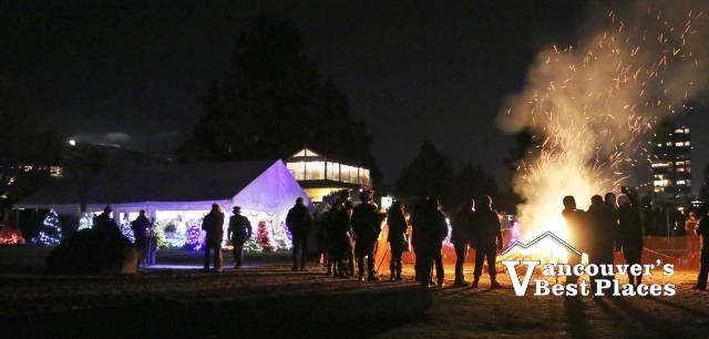 Dundarave Festival Bonfire Night