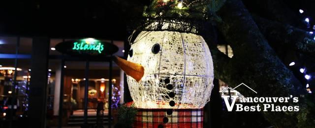 Harrison Resort Christmas Snowman