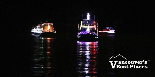 Illuminated Carol Ships