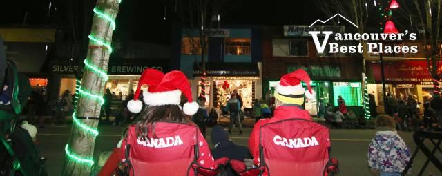 Maple Ridge Christmas Parade Audience