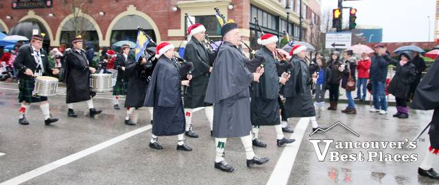 New West Santa Claus Parade Band