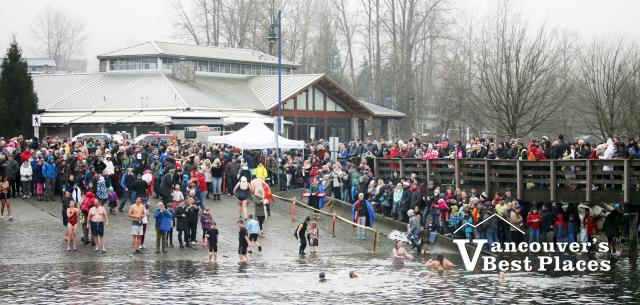 Port Moody Boathouse on New Year's Day