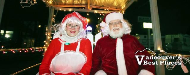 Aldergrove Christmas Light Up Parade