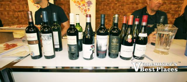 Vancouver Wine Festival Wines