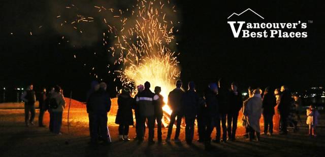 West Vancouver Wassail Bonfire Night