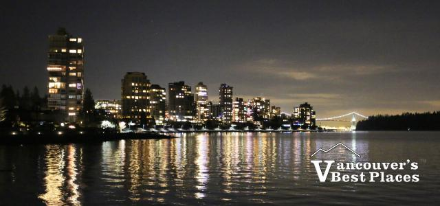West Vancouver at Night