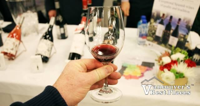 Wine Festival Wine Sampling