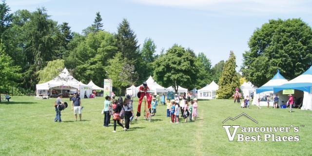 Children at Surrey Kids Festival